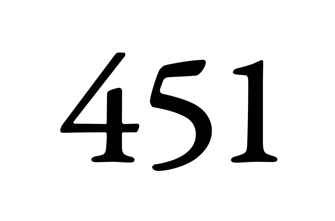 451 Logo