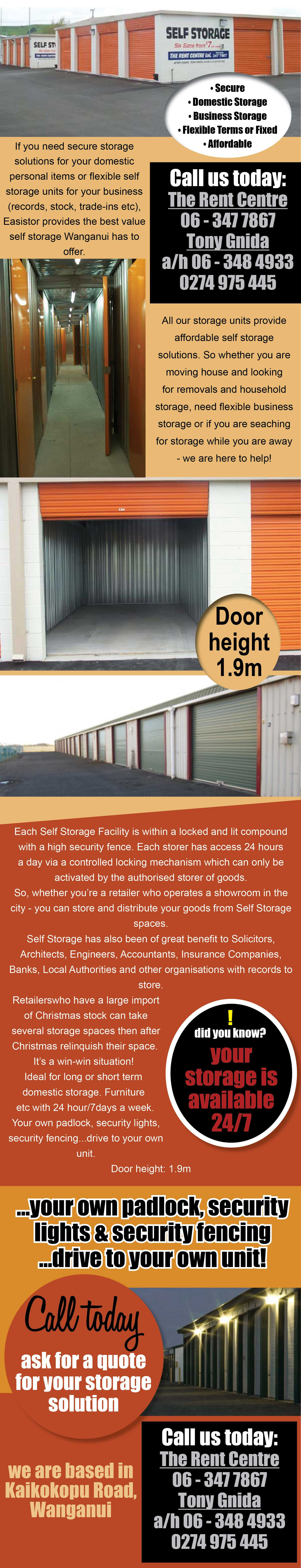 Searching for secure, flexible and affordable storage solutions?