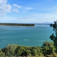Looking from Bowentown heads across to Matakana Island