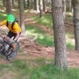 Doing the hard yards mountainbiking