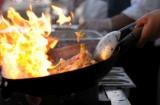 Frying pan fire