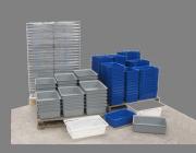Meat tubs-fish bins-tote trays, Plast-ax