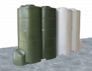 Plast-ax 1000L Modular Water Tanks with Pump Cover