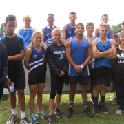 WHS Team at NISS Athletics Champs in Inglewood, 17-19 April 2017.  The High school group smashed five school records!