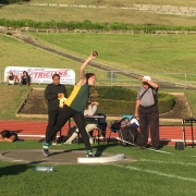 Awesome night at the WSS athletics at Cooks Gardens... SCHOOL RECORD BROKEN Sophie Andrews Shot Putt Intermediate Girls 10.66m, 15/3/17.