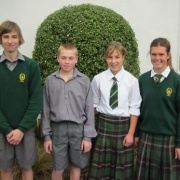 Sam Luff, Travis Bayler, Rebecca Baker & Emma Rainey off to National SS Cross Country in Dunedin.