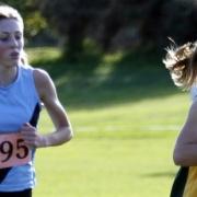 WHS Rebecca Baker junior girls WINNER of 3000m race, WSS Cross Country, 25 May 2017.