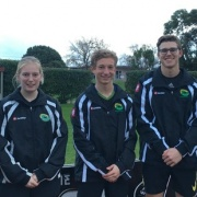 Whanganui players, all students from WHS, selected to play for the Central teams at the National U18 tourn. Emma Rainey, left, Joanna Bell, Jordan Cohen, Joseph Redpath, Ryan Gray; Chron 18/7/16.