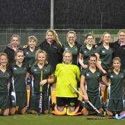 WHS girls first XI team with coach Kane Watkin making it through the Manawatu division 1 Secondary School Hockey semifinals, Chronicle 19/8/16.