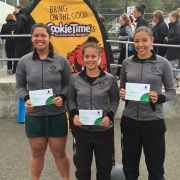 WHS netballers had 3 players named in the A Grade tournament team.  Congrats Montel Vaiao Aki (left), Ruhia Tamati (middle) & Kahurangi Sturmey, Sept 2016.