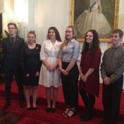 WHS recipients Duke of Edinburgh Hillary GOLD Award on 12/8/17 (completed in 2016): L > R; Luke Goldsbury, Alannah Dunn, Sophie Couper, Jadzia Morris, Zara Collinson & Jayden Bamford-Short.
