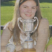 WHS student ELENA FORLONG & Schimanski are Wanganui's 1st NZ reps selected by Swim NZ to race at Australian Age Gp Champs in Sydney, Chron March 2015.