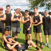 Boys Team came 9th overall at the NZSS Ultimate Champs 27 & 28 March 2017.