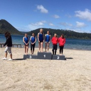 AWESOME results at the Blue Lakes 1 Kayaking sprints in Rotorua 8 & 9 Oct 2016. KATIE FOSTER (right) & SOPHIE BROOKE who finished 1st in K2 200m & 500m. JESSICA THOMPSON & ANNA CLIFTON 3rd in both of these events.
