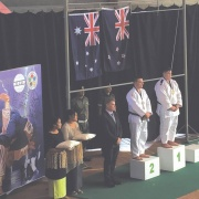 KEIGHTLEY WATSON wins GOLD in the Jnr Men (U21) over 100kg; SILVER in the Cadets (U18) over 90kg, OJU Continental Champs in Tonga 29/30 April, RCP 4/5/17.