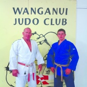 Wayne Watson & his son, WHS student KASEY, aged 16, NZ champion & third in Oceania, March 2016.