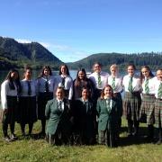 NZSS Waka Ama Nationals 19>23 March 2018. WHS students at Lake Tikitapu (Blue Lake).