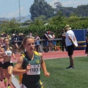 REBECCA BAKER WON the NISSs 1500m in an outstanding personal best of 4:33.73! Rebecca also took out the 3000m!! Wanganui Chronicle 10/4/18.