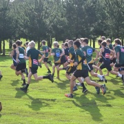 Nat Kirk finished 1st Y9 Boys & Blair Gowan finished 2nd Junior Boys; WSS Cross Country 24/5/18.