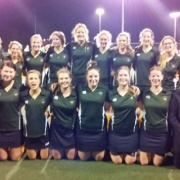 1st XI Hockey Girls Runners-up in FINAL Manawatu Secondary School Div 1 Comp in Palmerston North, August 2018.