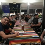 Dining out at QLD All Schools Touch Tournament in Brisbane, Australia ️10-14 October 2018.