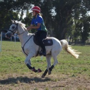 REBECCA BENGE WON 3 National team titles at the NZ Mounted Games in Hawke's Bay; U17 Pairs, U17 Teams & Open Teams, March 2018.
