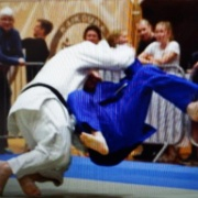 Action shot of Keightley at NZ National Judo Champs in CHCH, 27/10/18. Photo / @Alan Chadwick 2018.