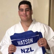 KEIGHTLEY WATSON has made NZ HISTORY by winning 6 GOLDS over 3 DIVISIONS, including the senior open weight men's title, NZ National Judo Champs Christchurch, 27/10/18.