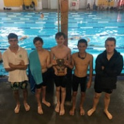 WHS boys WON their grade at the WSS Lifesaving Champs, 2/3/18. Great display of Lifesaving from WHS.