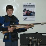 Congratulations James Gray for winning:  Junior Interclub Aggregate & Sealed Handicap, RSA Target Shooting Wanganui and more recently D Grade District Championship, Target Shooting Wanganui; November 2018.