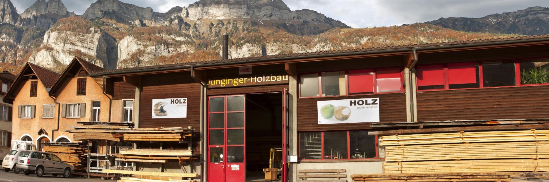 Junginger Holzbau Banner