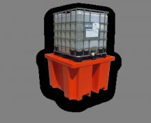 IBC secondary containment bund