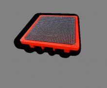 4 drum spill pallet + FRP Grate - Plast-ax