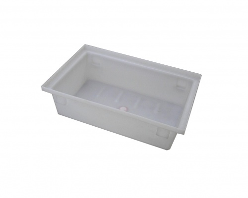 26L Plastic Fish Bin and Processing Tote