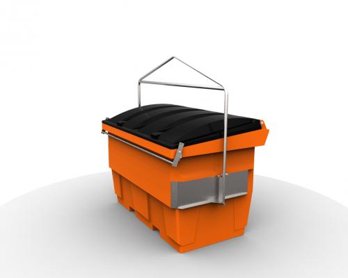 hook bin 2 cube plast-ax