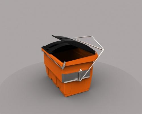 hiab 2m3 plastic bin - plast-ax