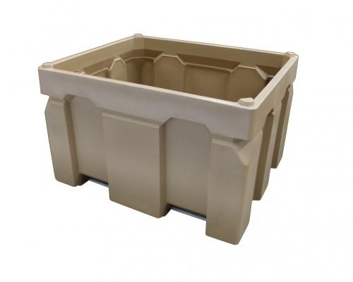 Plast-ax 1200 x 1000 - 750L stackable box pallet bin
