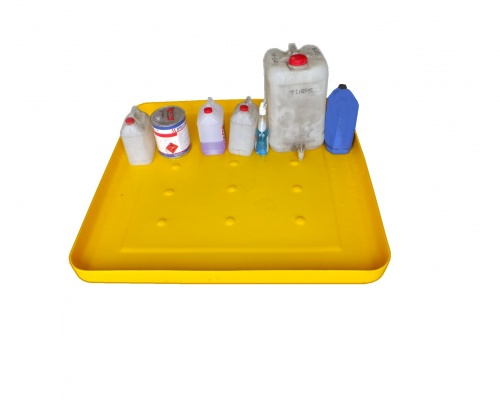 Drip pan & spill deck - Plast-ax