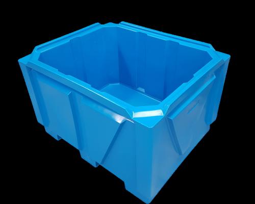 Ice bin indac fish processing bin