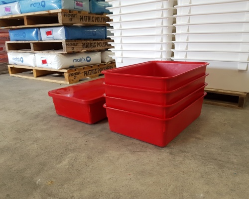 Nested 23.5L Tray with Lid