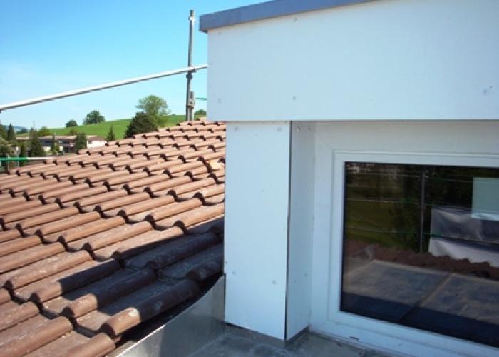Lukarne mit Dachfenster
