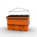Side load 2 cube bin -plastic - PLAST-AX