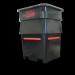 Plast-ax 1400L Offal Bin