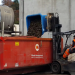 800L Fork Rotatable Offal Bin with Castors for Waste Product
