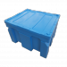 Plast-ax Plastic Box Pallet Bin Stackable with Lid