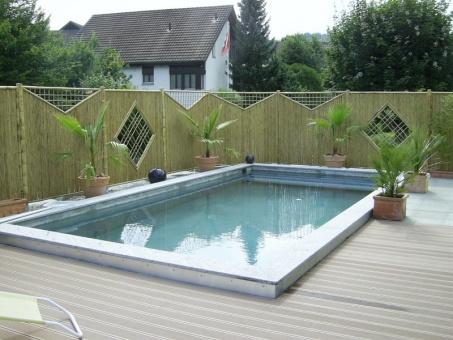 pool ohne betonieren