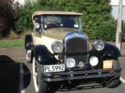 A 1927 Chrysler looking as good as new