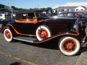 A 1931 Auburn, one of the few model of cars that sold well during the Great Depression