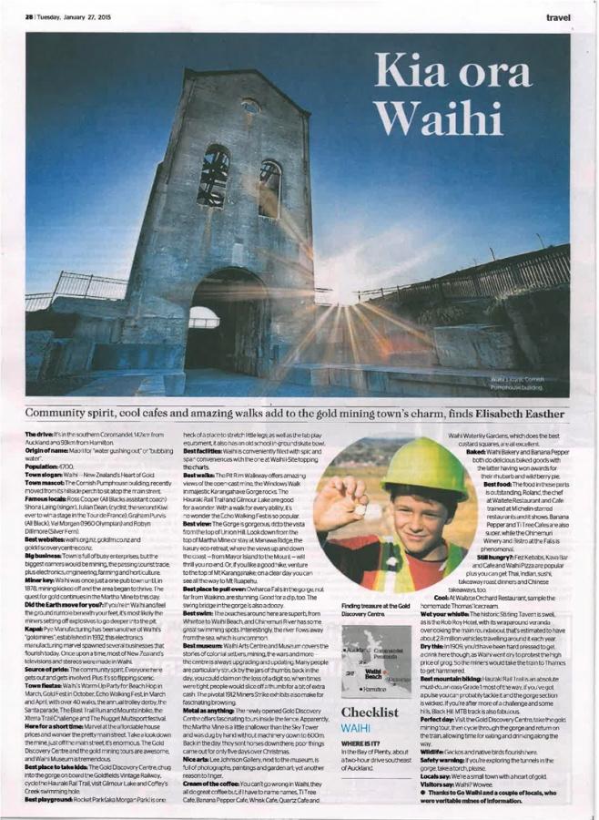 Kia ora Waihi! | Gold FM